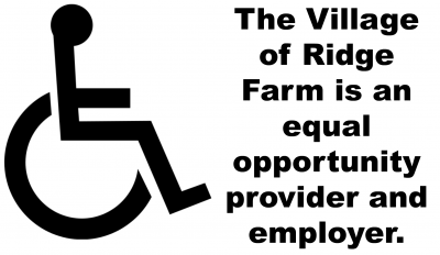 Village of Ridge Farm  <br> Illinois - A Place to Call Home...